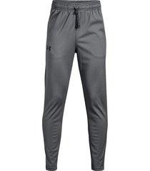 pantalon under armour para niño brawler 2.0 tapered gris