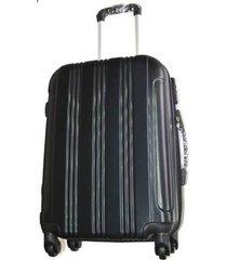 espectacular maleta pequeña 20 pulgadas cabina 4 ruedas 360º abs3 - negro