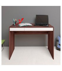 mesa escrivaninha artany college ii home office 2 gavetas