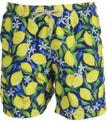 mc2 saint barth lemon mood shorts