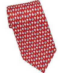 red ice cream cone tie