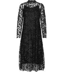 pearla vie dress knälång klänning svart bruuns bazaar