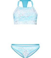 bikini a bustier (set 2 pezzi) (bianco) - rainbow