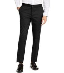 inc men's onyx slim-fit tech pants, created for macy's