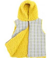 chaleco amarillo shimpumpam