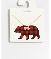 maurices womens dainty mama bear necklace