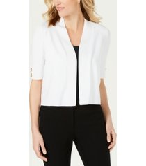 jm collection petite toggle shrug cardigan, created for macy's