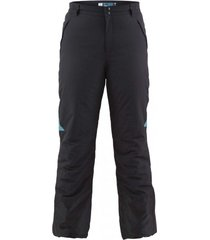 pantalon termico negro/turquesa hardwork