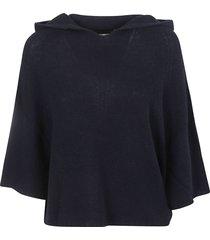 fabiana filippi loose fit hooded sweater