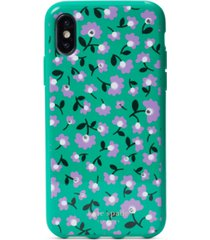 kate spade new york party floral jeweled iphone xs case