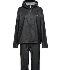 packable rainset outerwear rainwear rain coats svart tretorn