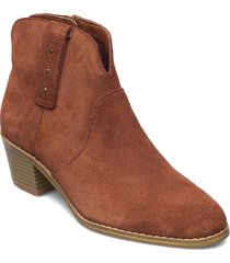 breccan valley shoes boots ankle boots ankle boot - heel brun clarks