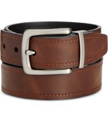 fossil parker reversible leather belt