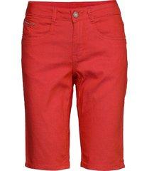 vavacr shorts - coco fit bermudashorts shorts röd cream