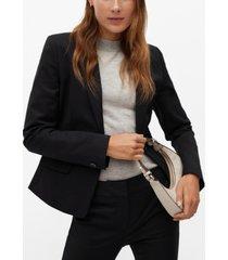 mango women's structured suit blazer