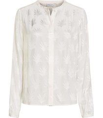 atlas blouse off white