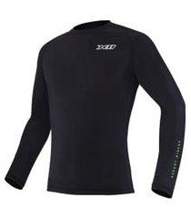blusa x11 segunda pele climate 2 preto