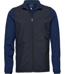 m ace hybrid mid hoodie trui blauw peak performance