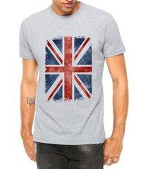 camiseta criativa urbana bandeira londres