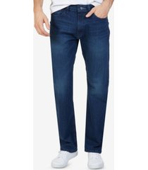 nautica men's stretch relaxed-fit jeans