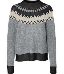 simone longsleeve nordic o-neck blouse