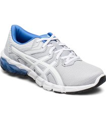 gel-quantum 90 2 gs shoes sports shoes running/training shoes grå asics