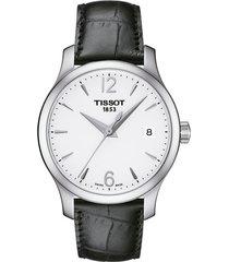 reloj tissot t-classic tradition t063.210.16.037.00 mujer