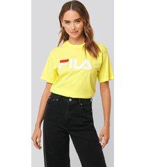 fila classic pure tee - yellow