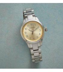 sundance catalog women's time is golden watch