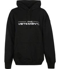vetements the logo hoodie