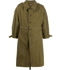 a.n.g.e.l.o. vintage cult 1950s military coat - green