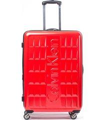 maleta cornell rojo 28 calvin klein