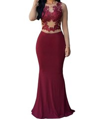 women's spandex mermaid prom dress sexy, evening dress,party dress, prom gown