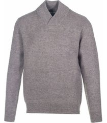 schott nyc men's wool blend v-neck sweater