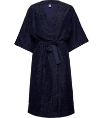 glitrala liberte kimono kimonos blå becksöndergaard