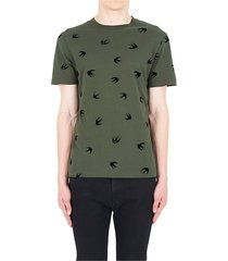 mcq alexander mcqueen mini swallow t-shirt