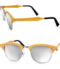 milo 49mm clubmaster sunglasses