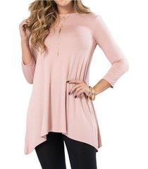 vestido claitin rosa para mujer croydon