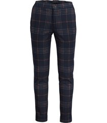 hensen pantalon mix & match - slim fit -blauw