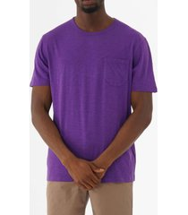 ymc wild ones pocket t-shirt - purple p6lad