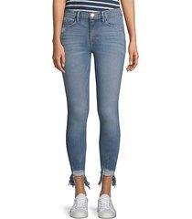 le skinny de jeanne stiletto hem jeans