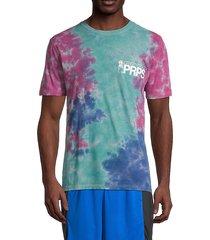 antioch tie dye logo t-shirt