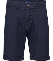 d2. regular sunfaded shorts shorts casual blå gant