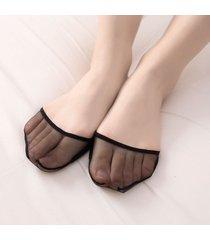 acrilico antiscivolo da donna soft imbottitura traspirante elastica invisibile modello calze