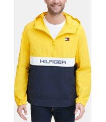 tommy hilfiger men's taslan popover jacket, created for macy's