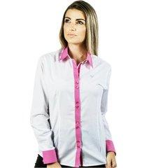 camisa pimenta rosada lívia