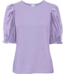 maglia in cotone biologico (viola) - bodyflirt