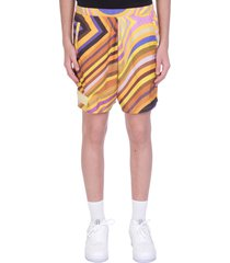 formy studio shorts in yellow polyester