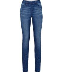jeggings elasticizzato (blu) - john baner jeanswear