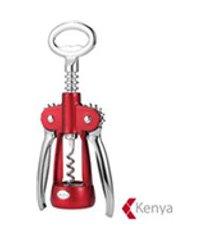 saca rolhas em metal wine collection vermelho - kenya